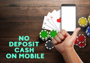 No Deposit Cash Coupons on Mobile phones